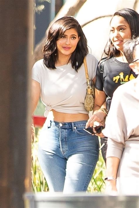 Kylie Jenner was spotted lunching with her bestie, Jordyn