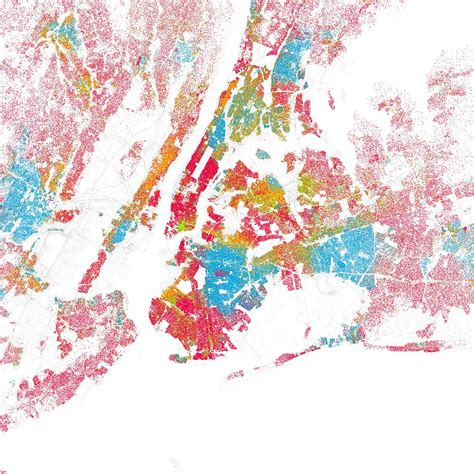 Race and ethnicity: New York City   I was astounded by