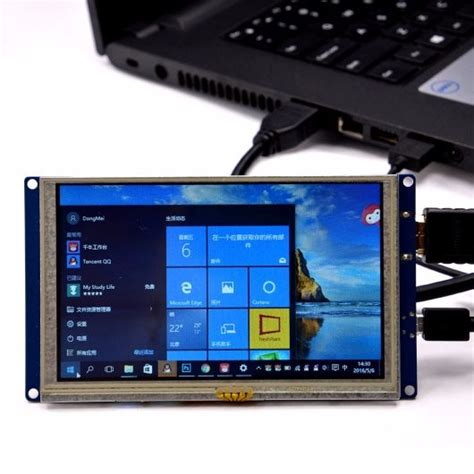 5 Inch HDMI Display with USB TouchScreen - Display - Seeed