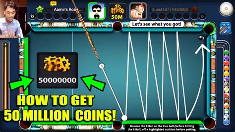 8 Ball Pool - HOW TO GET 50 MILLION COINS WITH RARE CUE
