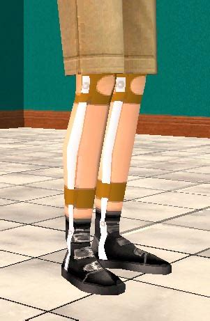 Mod The Sims - Antique leg braces for boys and girls